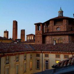 Casa Negri della Torre - vista da un terrazzo del cortile interno.