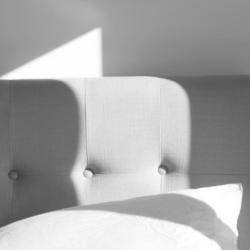Particolare di rivestimento tessile - Casa privata Milano.