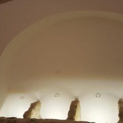 Particolare di ex mangiatoie – Masseria in Salento con Studio Iaquinta Architetti.