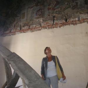 Piano nobile - Fasi del restauro.