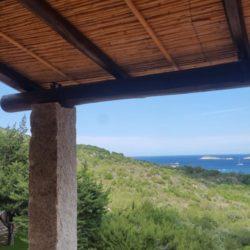 Pergola in incannicciato - Sardegna.