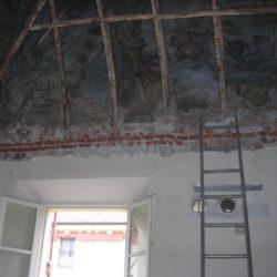 Casa Negri della Torre - fasi del restauro.