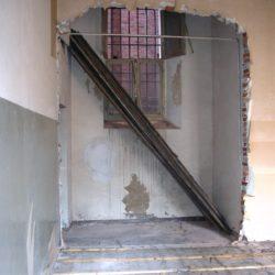 Casa Negri della Torre - appartamento in fase di restauro.