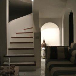 Scala in muratura - Villa privata in Sardegna.