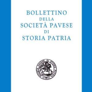 Bollettino della Società Pavese di Storia e Patria - anno 2008.