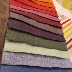 Tessuti in lino - Vibo Collection.