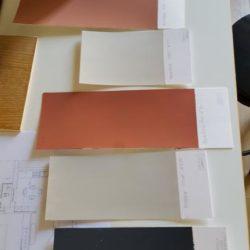 Studio e prove colore.